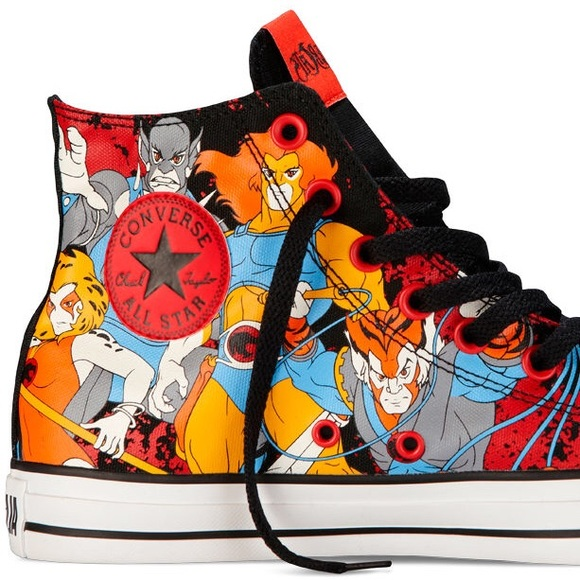 02371051afa Converse Other - Converse Thundercats All Star RARE hightop Shoes